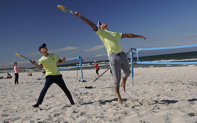 Beachtennis Dierhagen