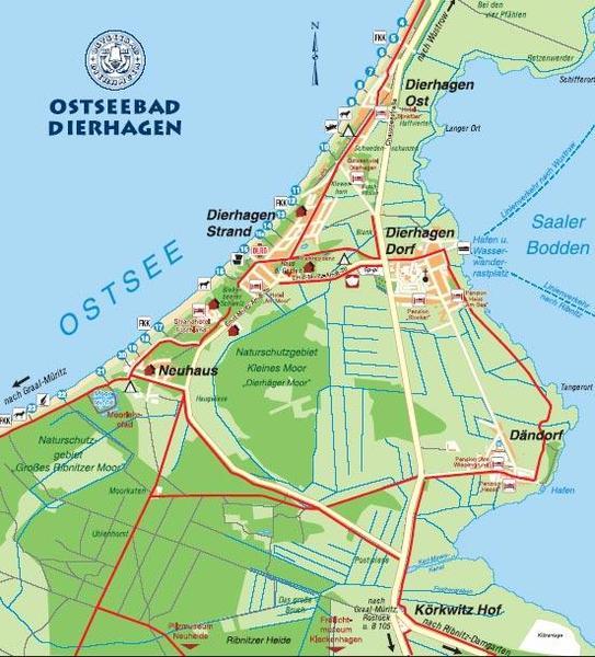Ortspl 228 Ne Dierhagen Ostseebad Dierhagen
