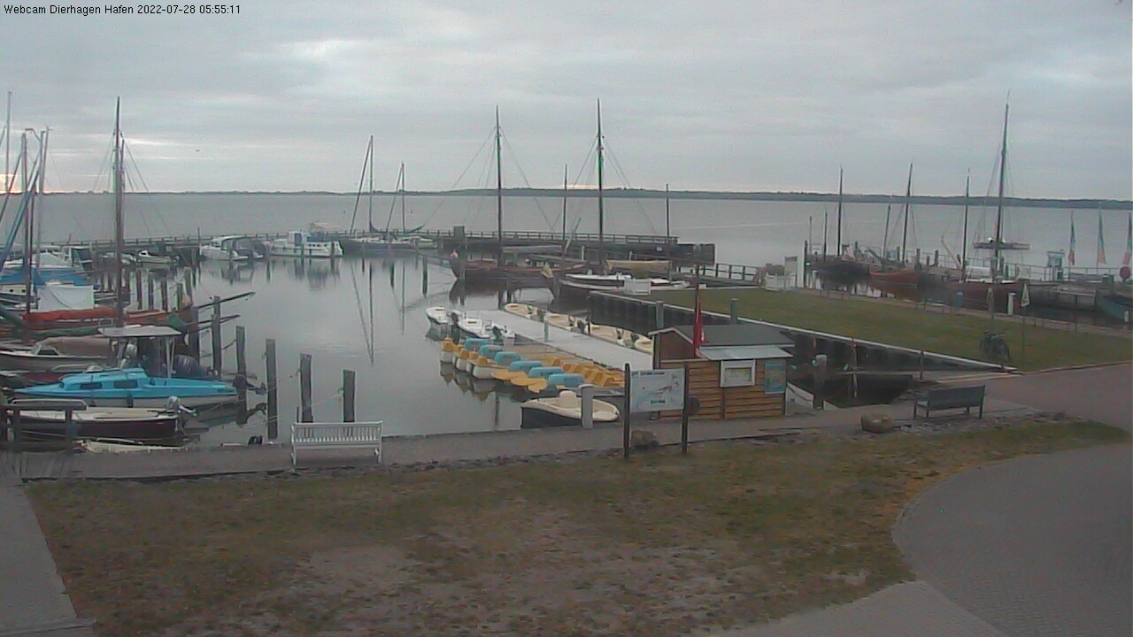 Webcam Dierhagen Hafen